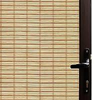 竹柄窓 ガラスフィルム 窓シート 目隠しシート 装飾再利用可能 無接着剤静電ペースト 断熱シート (90 x 200cm)