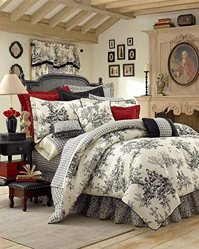 (Thomasville Bouvier 10-Piece Bedding Ensemble, Queen)