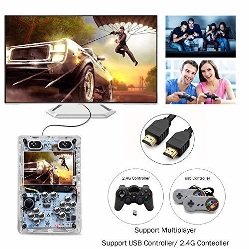 [해외구매대행 $199 99] KINHANK 3 5 inch HDMI output Handheld game player,  Raspberry Pi 3 B+ Game console With Retropie or Recalbox system, support  over 50