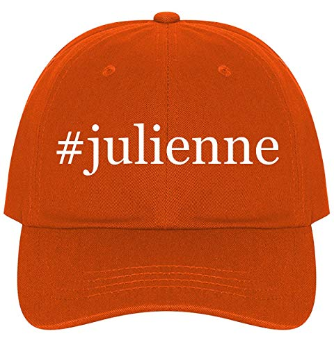 (The Town Butler #Julienne - A Nice Comfortable Adjustable Hashtag Dad Hat Cap, Orange, One Size)