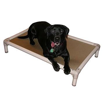 Kuranda almendra PVC chewproof perro cama – grande (40 x 25) – Cordura –