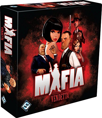 Mafia: Vendetta Board Game (Bluffing Game)