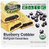 Health Valley Cobbler Cereal Bars, Blueberry, 7.9 oz