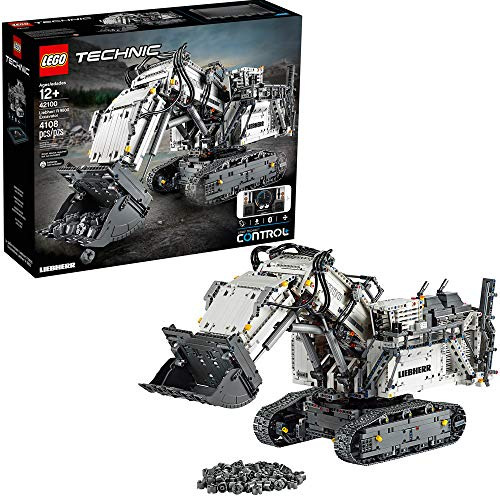 LEGO Technic Liebherr R 9800 Excavator 42100 Building Kit, New 2019 (4,108 Pieces)