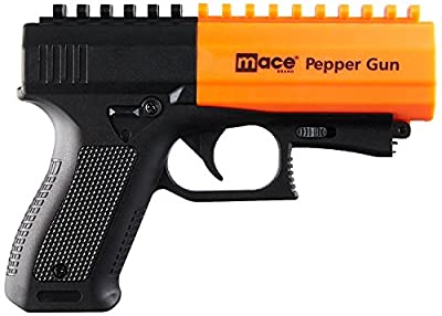 Mace Brand Police Strength Pepper Spray Pepper Gun 2.0…