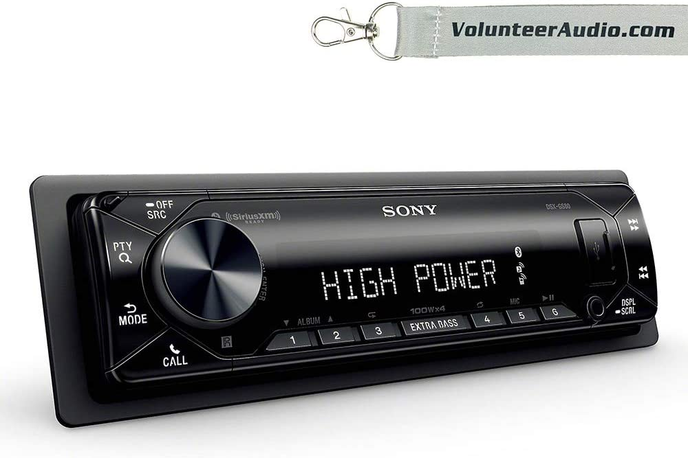 Sony Dsx-GS80 GS Series High Power 45W X 4 Rms Digital Media Receiver with Bluetooth and SiriusXM Ready