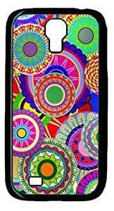 Cool Painting Samsung Galaxy I9500 Cases & Covers -Colorful floral design Custom PC Hard Case Cover for Samsung Galaxy S4/I9500