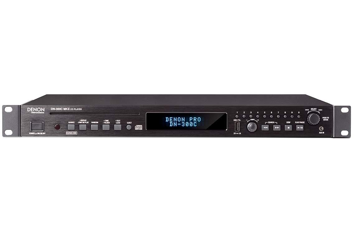 Denon Professional メディアプレーヤー CD/USB テンポ調節機能付 DN-300CMKII DN-300C MKII  B074P4DW65