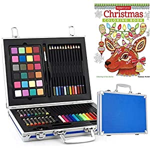 Gallery Studio 82 Piece Deluxe Art Set in Wooden Case
