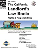 The California Landlords Law Book, David Brown and Ralph Warner, 0873377796