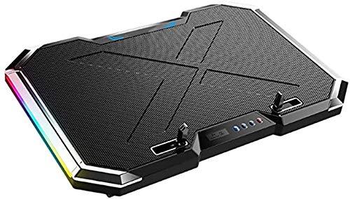 Gaojian 12-17 Pulgadas refrigerador portatil, Ordenador portatil del Ventilador, Seis Ventiladores y LCD, 1400 revoluciones por Minuto