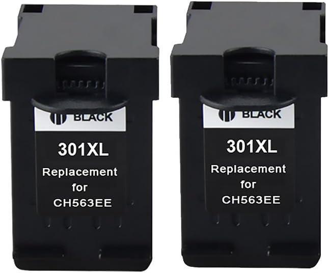 Bosumon 3 Pack Compatible 301XL de HP 301 XL negro y color cartucho de tinta (la última V1 chip) Compatible para HP Deskjet 1000, 1010, 1050, 1055, 1510, 1512, 1514 ...
