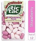 Tic Tac Mints, Strawberry Fields, 1 oz Singles, 12 Count