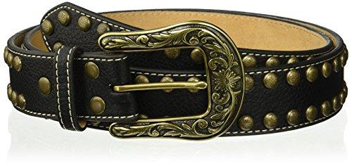 Nocona Belt Co. clavo de flecha de cobre para mujer, Negro, XL