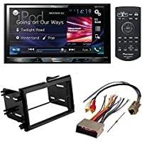 PIONEER AVH-X5800BHS AFTERMARKET CAR STEREO DASH INSTALLATION KIT W/ WIRING HARNESS FOR SELECT LINCOLN MERCURY AND FORD VEHICLES