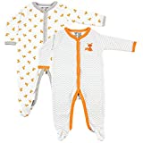 Luvable Friends Baby 2-Pack Snap Sleep N Play, Fox, 3-6 Months