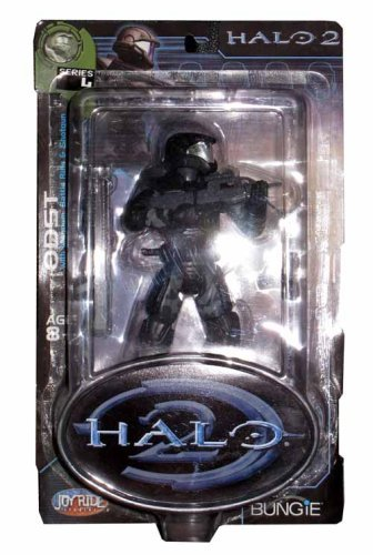 (Halo 2 Action Figure Series 4 Marine Orbital Drop Shock Trooper ODST )