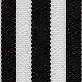 "Offray, Black Monostripe Craft Ribbon, 1 1/2-Inch x 9-Feet, 1 2"" x"