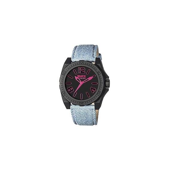 Watx Reloj Análogo clásico para Mujer de Cuarzo con Correa en Nailon RWA1885