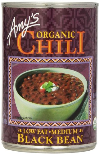 (Amy's Organic Chili, Low Fat Medium Black Bean, 14.7 Ounce (Pack of 6))