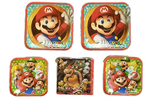 Super Mario Brothers Party Plates 9