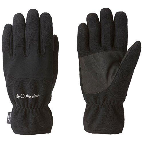 Columbia Men's Wind Bloc Gloves, Black/Black, (Columbia Lightweight Gloves)