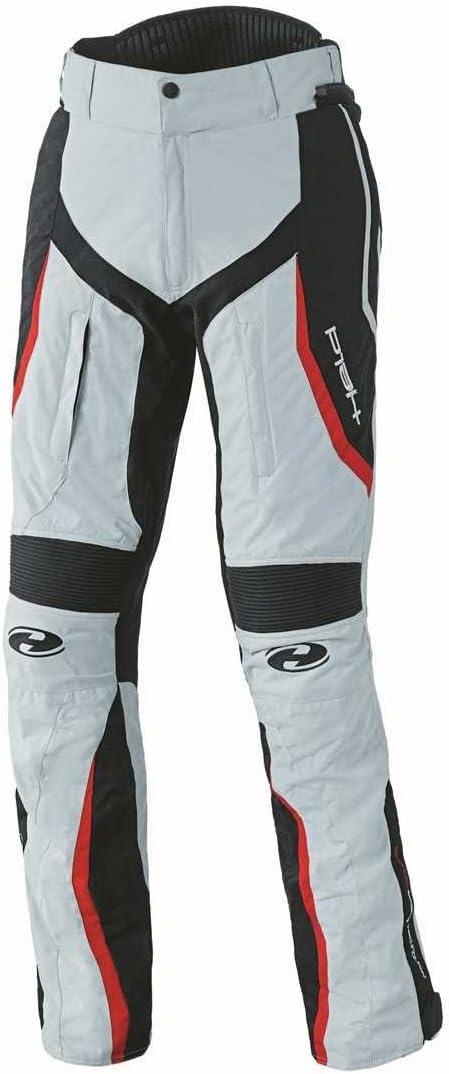 Held Link sportliche Damen Motorradhose Gr/ö/ße D3XL Farbe grau-rot