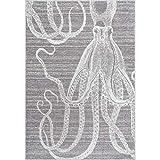 """nuLOOM Thomas Paul Octopus Area Rug, 8' 10"""" x"""
