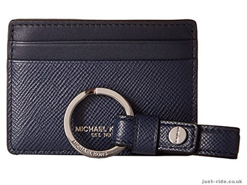 Michael Kors Leather Card Case and Key Fob Gift Set