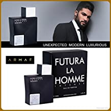 Armaf Luxe Futura Intense 3.4 Eau De Parfum Spray for Men by Armaf Luxe