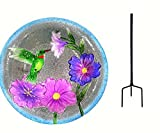 Songbird Essentials SE5002 Hummingbird Staked Bird Bath (Set of 1)