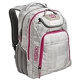 OGIO Business Excelsior 17' Laptop Backpack/Rucksack, Blizzard/Pink