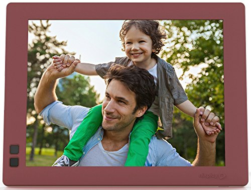 Nixplay Seed 8 inch WiFi Digital Photo Frame - Mulberry by nixplay (Image #4)