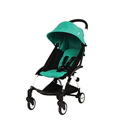 HJHY Carro del bebé, carro ligero plegable de los carros del carro de la carretilla
