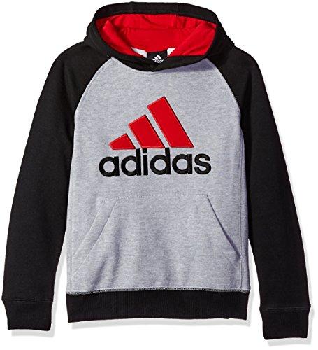 adidas Boys' Fleece Blocked Hoodie – DiZiSports Store