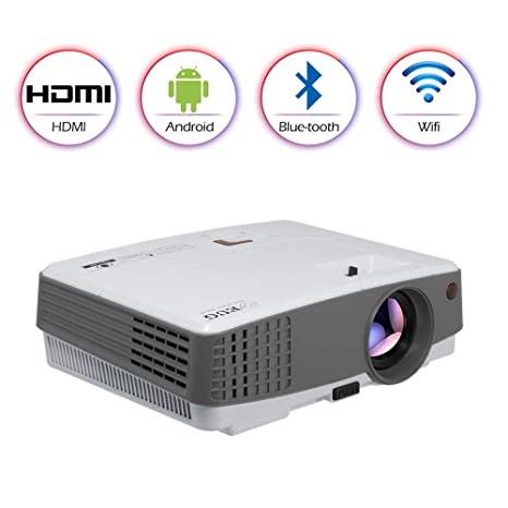 Home Bluetooth Wireless Projector HD Portable HDMI Airplay for iOS Android TV DVD Laptop Multimedia LED LCD Smart Wifi Bluetooth Proyector Home ...