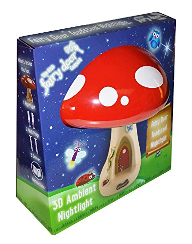 (Toadstool Ambient Light - The Irish Fairy Door Company)