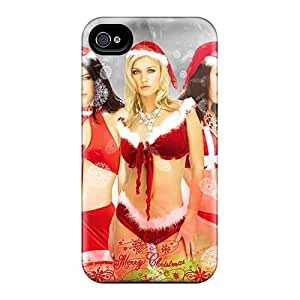 CaroleSignorile Tpd29102aRAC Cases Covers Iphone 6 Protective Cases Santa Christmas Girls