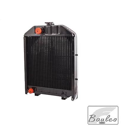 Radiador Agua de cobre para tractores Landini y Massey Ferguson – 11484