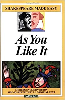 As You Like It (Shakespeare Made Easy) by William Shakespeare (2009-09-01)