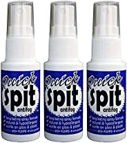 Jaws JAW1796-3 Quick Spit Antifog Spray (Pack of 3), 1-Ounce