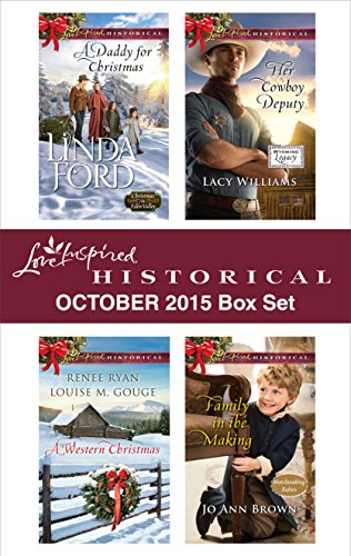 book cover of Love Inspired Historical October 2015 Box Set