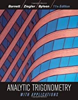 Analytic Trigonometry with Applications, 11th Edition Front Cover