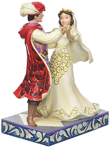 (Jim Shore Disney Traditions by Enesco Snow White and Prince Wedding Figurine)