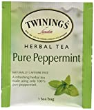 Twining Tea Pure Peppermint, 20 Count - 3 Pack