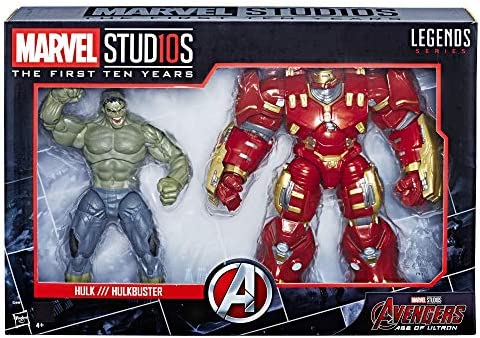 Hasbro accion Marvel Pack 2 Figuras Hulk & Hulkbuster, Multicolor ...