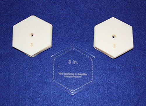 Mylar 3 Hexagon 51 Piece Set