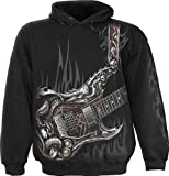 Spiral - Boys - AIR Guitar - Kids Hoody Black - XL