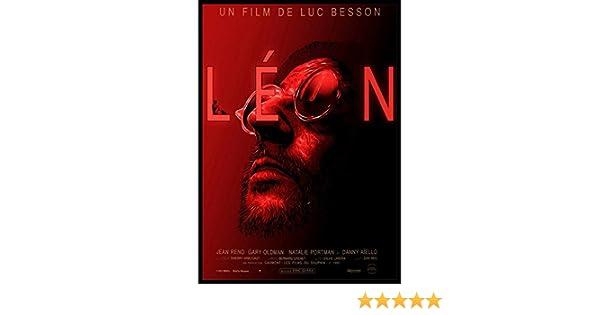 Leon The Professional FRIDGE MAGNET 6x8 Magnetic Movie Poster CANVAS Print