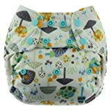 Blueberry Simplex All In One Diaper, Snails, One Size